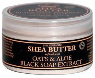 Nubian Heritage Shea Butter Lotion, African Black