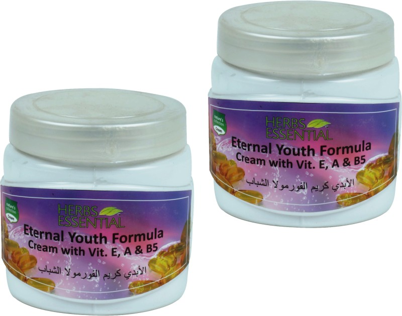 Herbs Essential Eternal Youth Face & Body with Vitamin A, B5 & E (Pack of 2)(1000 g)