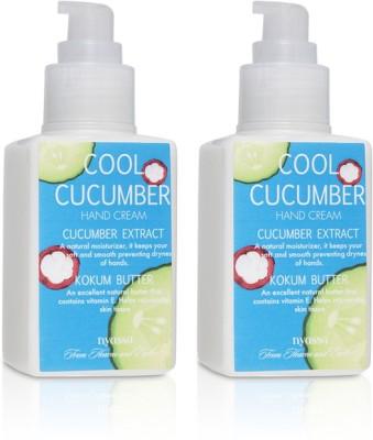 Nyassa Cool Cucumber Hand Cream Pack Of 2