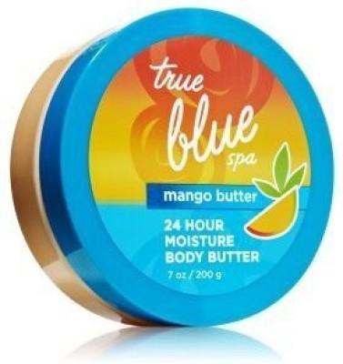 Bath & Body Works True Blue Spa 24 Hour Moisture Mango Body Butter (200 ML)