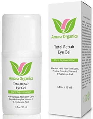 Amara Organics Eye Cream for Dark Circles and Puffiness with Peptides, . fl.
