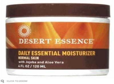 Desert Essence Facial Moisturizer, Daily Essential, With Jojoba Oil & Aloe Vera, -s (Pack of 3)