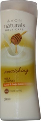 Avon Naturals Milk And Honey Hand And Body Lotion