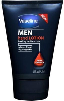 Vaseline for Men Hand Lotion, Extra Strength