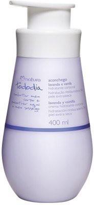 Natura Deodorant Body Moisturizer Lavender And Vanilla Skin Extrasseca Tododia(400 ml)