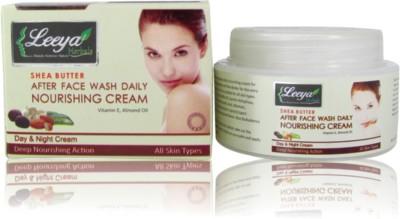 LEEYA Shea Butter After Face Wash Daily Nourishing Cream 50gm