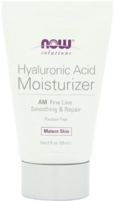 Now Foods NOW solutions Hyaluronic Acid Moisturizer AM Fine Line Smoothing & Repair Mature Skin Net fl.