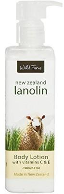 Wild Ferns Lanolin Body Lotion New Zealand by