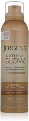 Jergens Natural Glow Foaming Daily Moisturizer Fair to Med