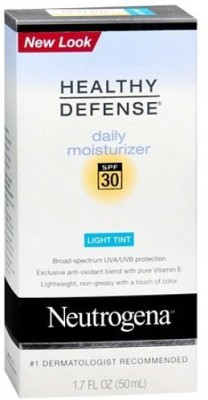 Neutrogena Healthy Defense Daily Moisturizer SPF 30, Light Tint (50 g)