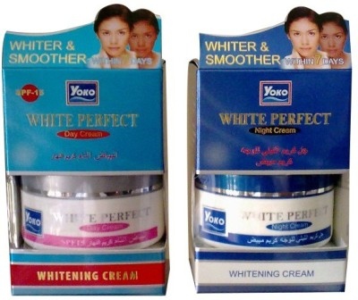 Yoko White Perfect SPF-15 Day & Night Whitening Cream