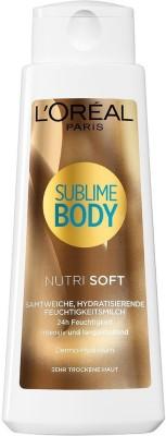 L,Oreal Paris Sublime Body Nutri Soft Lotion