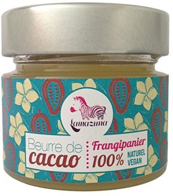 Lamazuna Beurre De Cacao Frangipainier Organic Wild French Cacao Butter