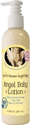 Earth Mama Angel Baby lotion vanilla orange -