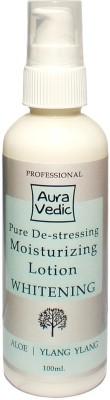 Auravedic Professional Pure De-stressing Moisturizer Whitening Lotion