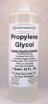 Element Propylene Glycol 1 Quart ( )-Highest Quality Available-From 6