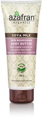 Azafran Organics Soya Milk Skin Nourishing Body Butter
