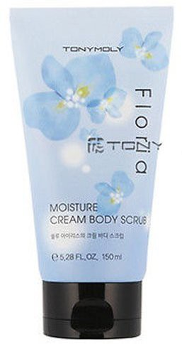 Tonymoly Floria Moisture Cream Body Scrub(150 ml)