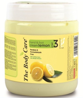 the body care Lemon hand & foot cream 500g