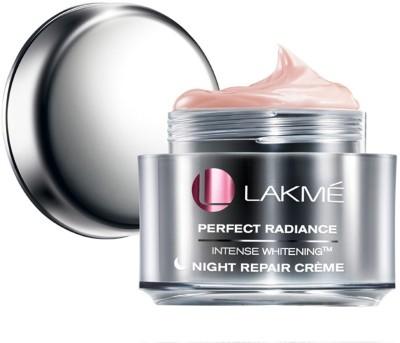 Lakme Perfect Radiance Intense Whitening Night Repair Creme