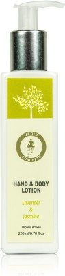 Vedic Concepts Hand & Body Lotion - Lavender & Jasmin
