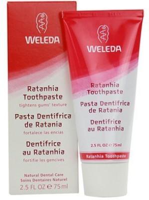 Weleda Ratanhia Toothpaste -