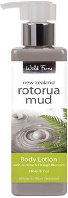 Wild Ferns Rotorua Mud Body Lotion with Jasmine & Orange Blossom