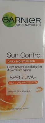 Garnier Skin Naturals Sun Control Daily Moisturiser