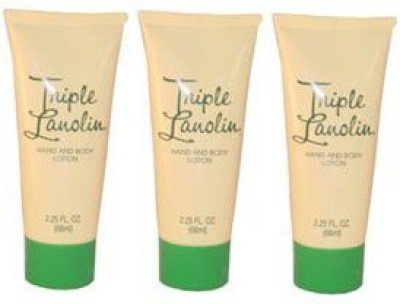 Triple Lanolin Hand and Body Lotion (3 Pack)