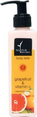 Natural Bath & Body Grapefruit & Vitamin C Body Latte