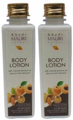 Khadimauri Herbal Body Lotion - Pack of 2 - Premium Ayurvedic