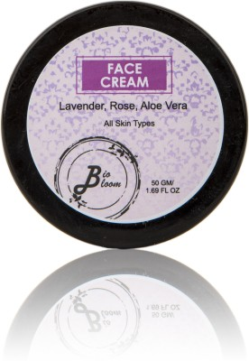 BioBloom Face Cream - Lavender, Rose, Aloe Vera