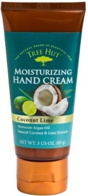 Tree Hut Hand Cream, Coconut Lime