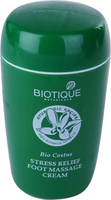 Biotique Bio Costus Stress Relief Foot Massage Cream