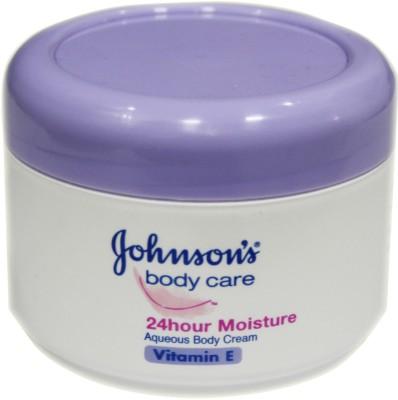 Johnsons Vitamin E 24 Hour Moisture Aqueous Body Cream