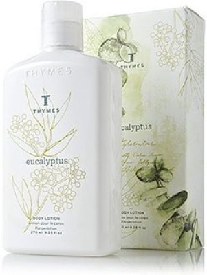 Thymes Body Lotion, Eucalyptus, - Bottle