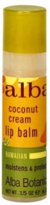 Alba Botanica Coconut Cream Lip Balm s