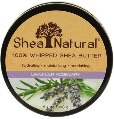 Shea Natural Whipped Shea Butter, Lavender Rosemary