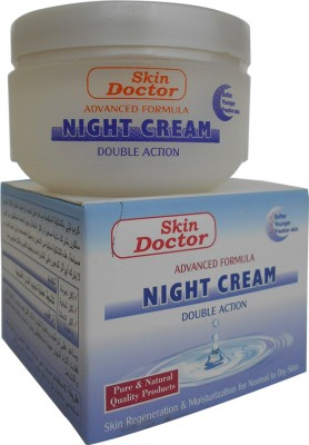 Skin Doctor Advanced Formula Night Cream, Double Action