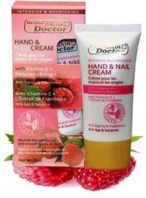 Skin Doctor Hand Nail Cream with Vitamin E + Raspberry Extract