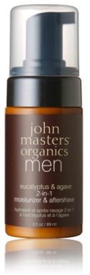 John Masters Organics Eucalyptus And Agave 2-In-1 Moisturizer And Aftershave
