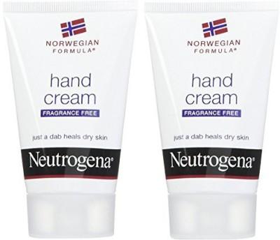 Neutrogena Hand Cream Norwegian Formula Fragrance Free, (Pack of 3)