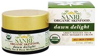 SanRe Organic Skinfood Dawn Delight Facial Cream Matcha Green Tea and Rosa Mosqueta