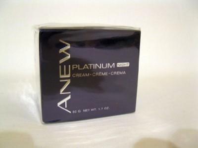 Avon Anew Platinum Night Cream Full Size