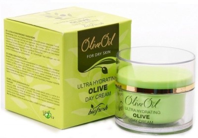 Bio Fresh Olive Oil Day Cream, Ultra Hydrating For Dry Skin