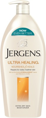 Jergens Ultra Healing Nourishes and Heals Extra Dry Skin Moisturizer Body Lotion