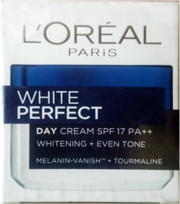 L,Oreal Paris White Perfect Day Cream SPF17 PA+++ Whitening +Even Tone( Made in Indonesia)