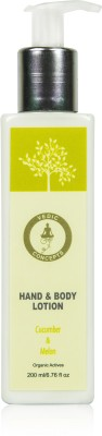 Vedic Concepts Hand & Body Lotion - Cucumber Melon