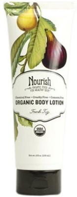 Nourish Organic Body Lotion - Fresh Fig