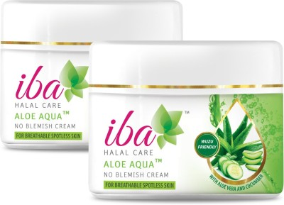 Iba Halal Care Aloe Aqua No Blemish Cream (Pack of 2)